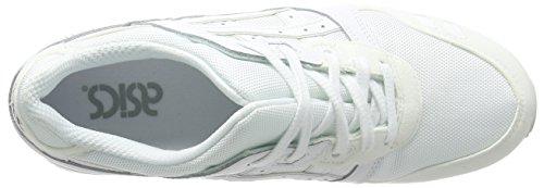 ASICS Gel-lyte Iii H6b3n-9090-11h, Unisex-Erwachsene Sneakers Weiß (white/white 0101)