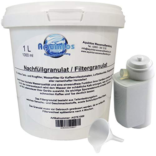 Siemens/Bosch TZ70033 /TCZ7003 Wasserfilter Brita Intenza/Refill-Set mit 1 L Nachfüllgranulat