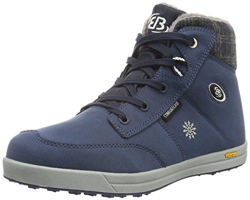 Brütting 541287, Sneakers Hautes Femme Bleu (Marine)