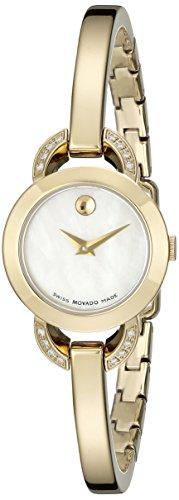 Ladies Movado Rondiro Diamond Watch 0606889
