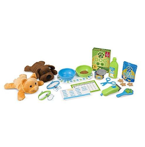 Melissa & Doug Spieltierpflege-Set zum Füttern und Pflegen (24 Teile)