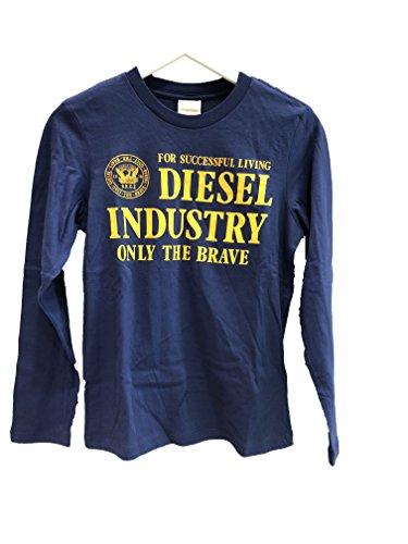 Diesel -  maglia a manica lunga  - ragazzo blu 10 anni