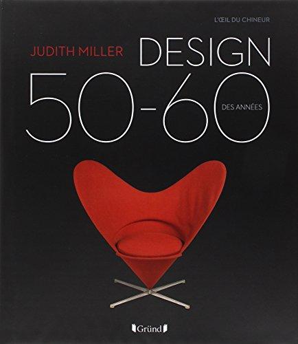 Design des années 50-60 par Judith Miller