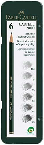 Faber-Castell–Castell 9000Crayon Art Set (Lot de 6)