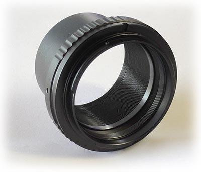 """TS-Optics Adapter von 2"""" Steckhülse auf Nikon - ohne Umweg über T2. mehr Ausleuchtung"""