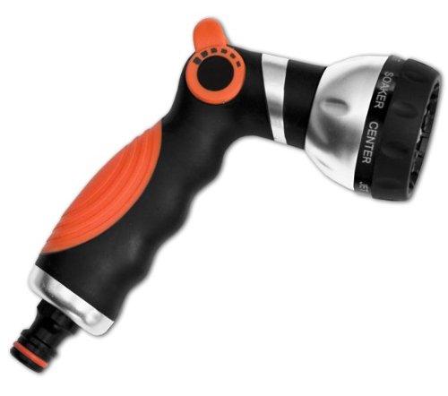 Pistolet – Arroseur automatique en métal avec 8 fonctions