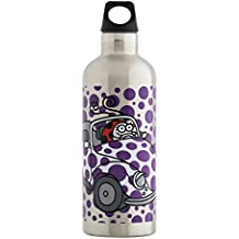 Kukuxumusu Botella Térmica 0,5L Mariquita de Acero Inoxidable Futura (boca estrecha)