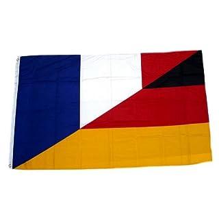 Flagge / Fahne Deutschland / Frankreich 90 x 150 cm