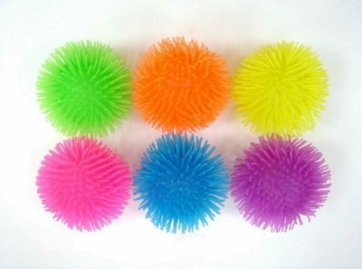 CHILDRENS EDUCATIONAL FUN & COLOURFUL SENSORY TOY TENTACLE BALLS SET OF 6 BY OSG