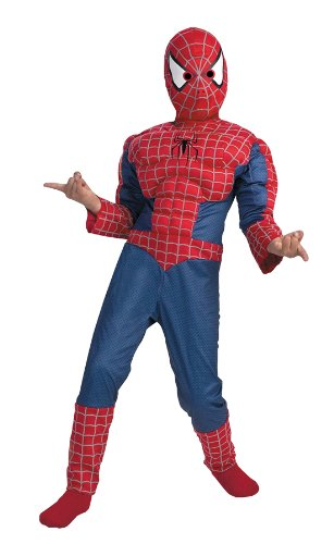 SPIDERMAN MUSCLE 7 TO 8 (Kinder Lizard Kostüme)