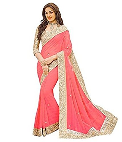 SAREES(Women's Clothing Sarees for Women latest Color Sarees collection in latest Sarees with designer Blouse Piece free size beautiful bollywood Sarees for Women party wear offer designer Sarees with Blouse piece Sarees New Collection)