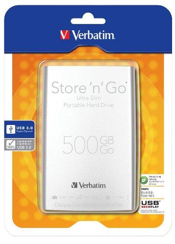 Verbatim 53151 HDD Esterno da 500GB, 2,5