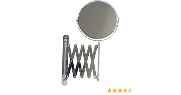 Maurer 5421530 specchio estensibile da parete per il bagno 15 cm