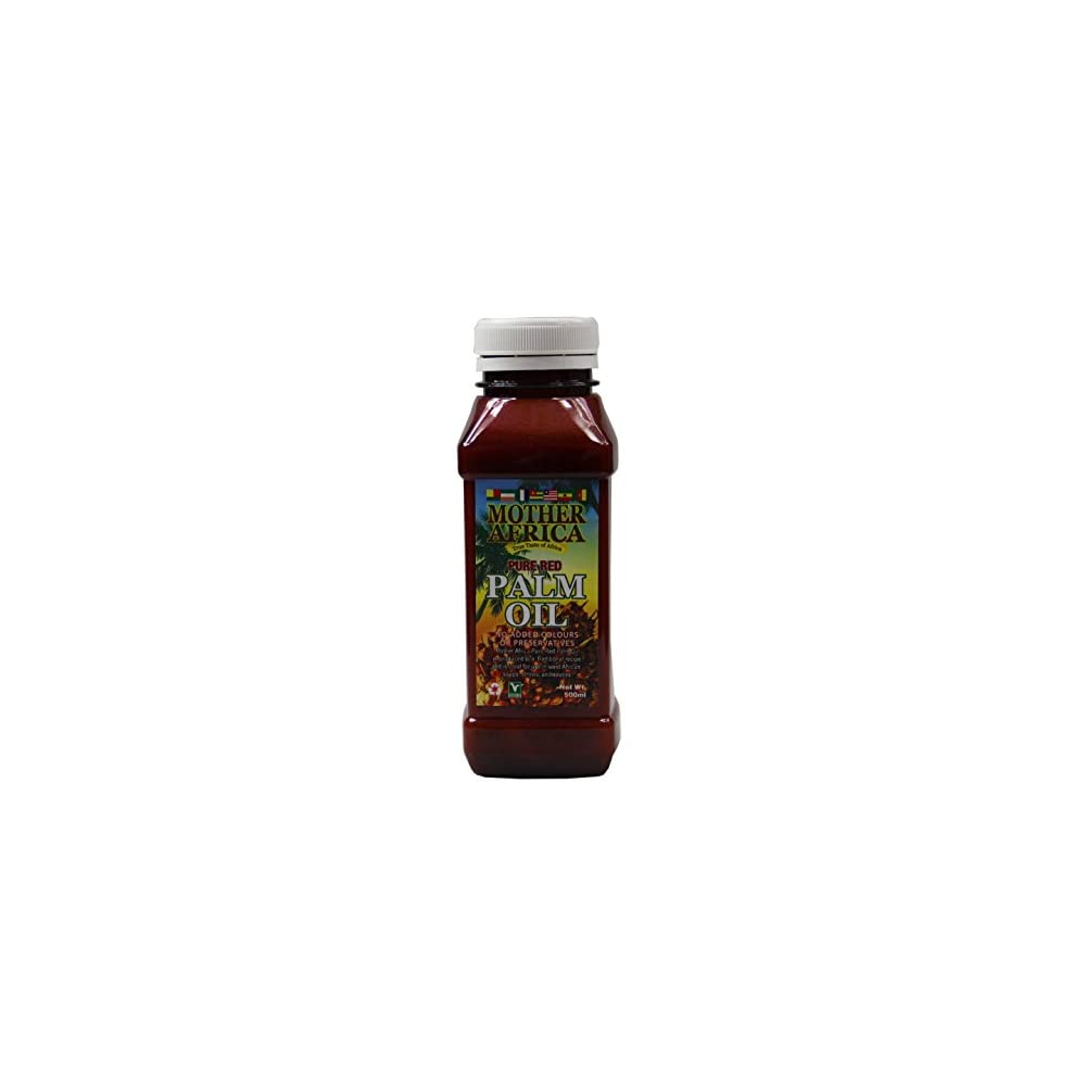 500ml Mother Africa Rotes Palml Palm L Pure Red Palm Oil