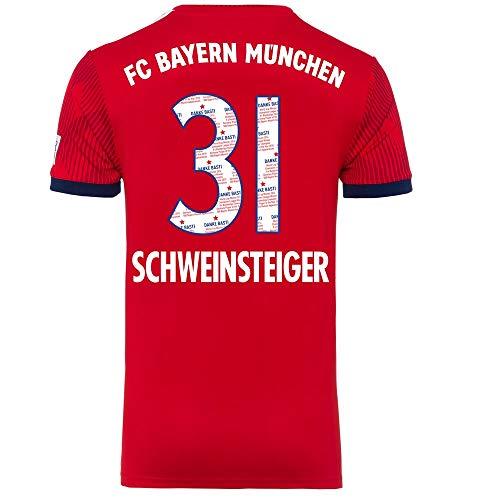 Bayern München Home Danke Bastian Schweinsteiger 31 Trikot 2018 2019 - L