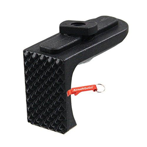 Handstop (APS Dynamik Hand-Stop Typ B für M-LOK Rail (Schwarz) - Schlüsselanhänger Inklusive)