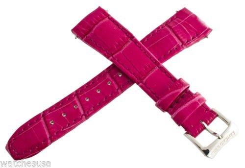 Raymond Weil 18mm Damen Pink Leder für Tango Watch Band Strap 5981
