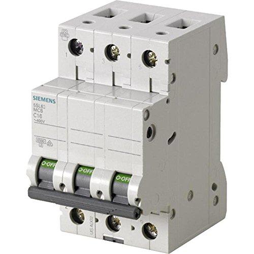 Preisvergleich Produktbild Siemens 5sl6310–7Miniatur Leitungsschutzschalter 6KA 3pol c-10a