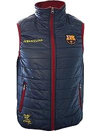 Doudoune sans manche Barça - Collection officielle FC BARCELONE - Taille enfant garçon