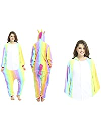 Kigurumi Pijama Animal Entero Unisex para Adultos con Capucha 2018.Ideal para Regalar, Fiestas