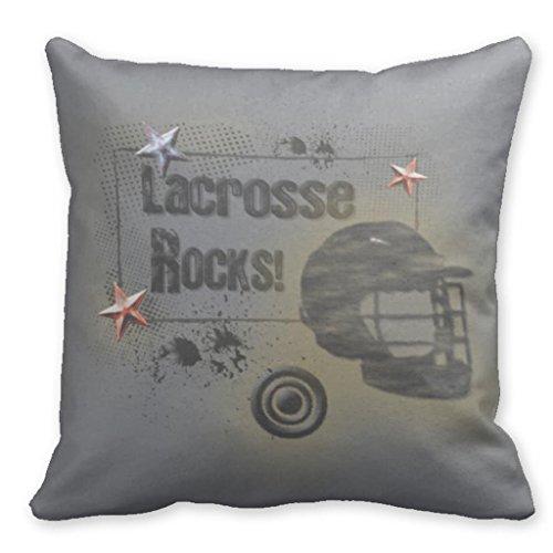 b.r.k Dekoratives Kissen Bezüge Design Blanko 45,7x 45,7cm Lacrosse Rocks