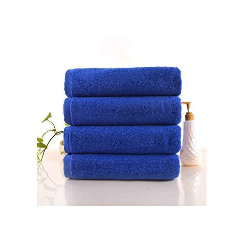 LIFEILONG Erhöhen Sie die Verdickung Baumwolle verblasst Nicht ohne fusselfreies saugfähiges Handtuch blau 01 80 * 100