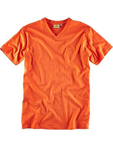 "ROADSIGN australia Basic T-Shirt ""Baseline-V"" Orange"