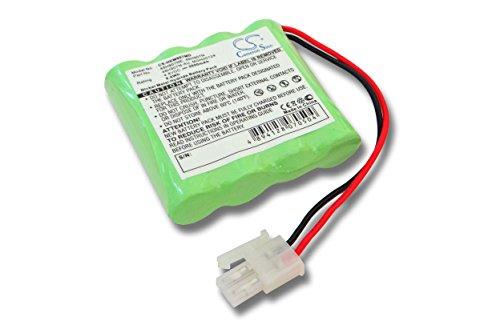 batteria vhbw per monitor pressione sanguigna Omron HEM-907, HEM-907XL come 48H907N, 48H907N-AU, 48H907NE, MGH00124. 2000mAh (4.8V)