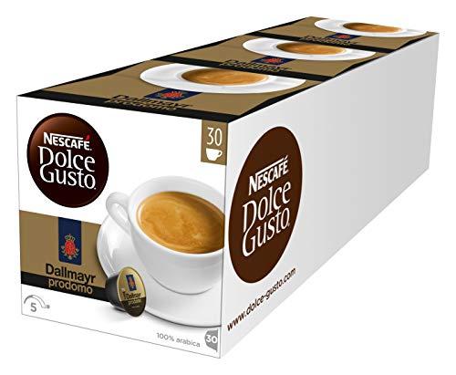 NESCAFÉ Dolce Gusto Dallmayr Prodomo, XXL-Vorratsbox, 100% Arabica-Bohnen, aromaversiegelte Kapseln, 90 Kaffeekapseln