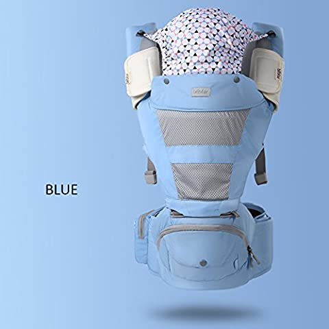 ERRU- Cuatro estaciones de múltiples funciones del bebé de la correa de la cintura Sentado Taburete Frente celebrar bebé heces del bebé de la correa de niñera
