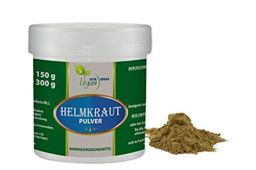 VITAIDEAL VEGAN® Helmkraut Pulver (Scutellaria lateriflora) 50g inklusive Messlöffel, rein natürlich ohne Zusatzstoffe.