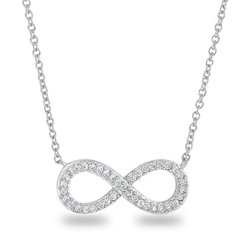 rhodium-plated-925-sterling-silver-cz-simulated-diamond-classic-infinity-shape-symbol-chain-necklace