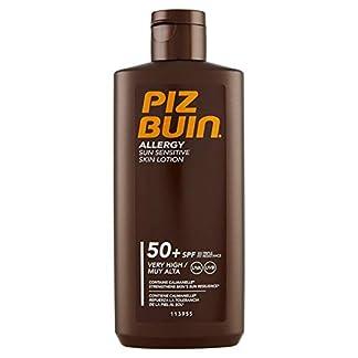 Piz Buin Allergy Protector Solar, Loción Corporal SPF 50+, Protección Muy Alta – 200 ml