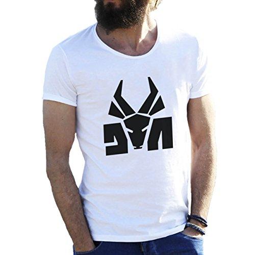 Die Antwoord Top Rap Star Ninja Yolandi Logo Herren T-Shirt weiße