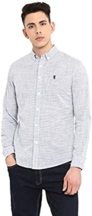 Red Tape Men's Striped Regular fit Casual S