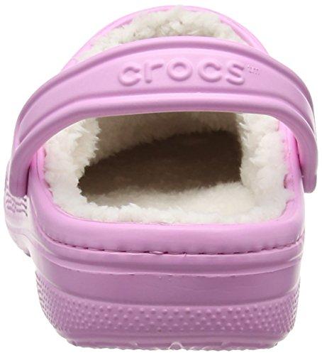 crocs Unisex-Erwachsene Winter Clog Pink (Carnation/oatmeal)