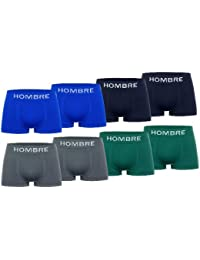 Men's Fashion Lounge Herren Boxershorts 'Hombre', 4er Pack in trendigen Farben und verbesserter Passform
