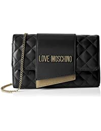 fc42d8a82c Love Moschino Borsa Quilted Nappa Pu, Tracolla Donna, 6x14x23 cm (W x H