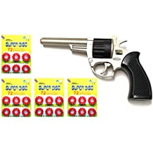 Outletdelocio. Revolver metalico del Oeste Nevada con 288 fulminantes en Aros de 12 tiros.