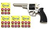 Outletdelocio. Revolver metalico del Oeste Nevada con 288 fulminantes en Aros de 12 tiros. 56159/4-63863