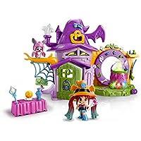 Pinypon - La Casa Encantada de Brujitas, con 1 figurita de bruja, para niños y niñas de 4 a 8 años (Famosa 700014711)