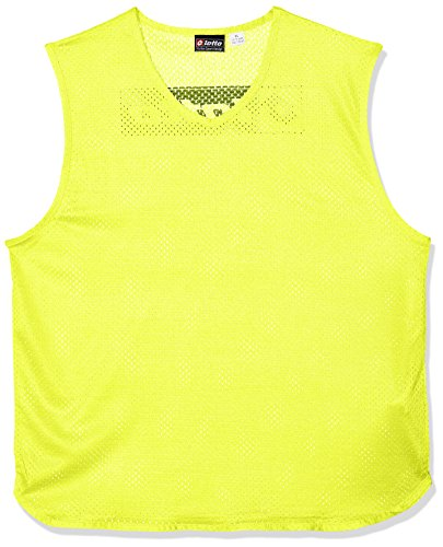 Lotto Kinder lt024/k3133 Tank TEAM TRAINING Lätzchen, Fluo Gelb, One size (Leder-leibchen)