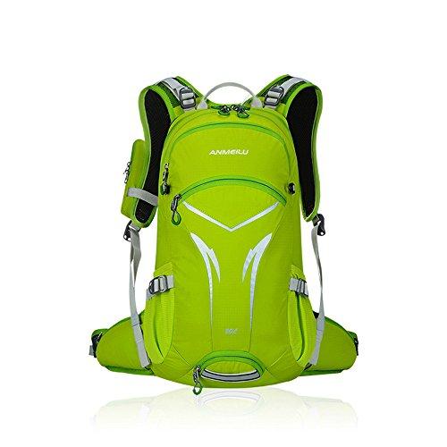 Docooler 20L Wasserdicht Schulterrucksack mit Lichtreflektierendes Material/Fahrrad Reitrucksack/Mountain Bike Travel Wandern Camping Running Wasserabweisender Rucksack Tasche