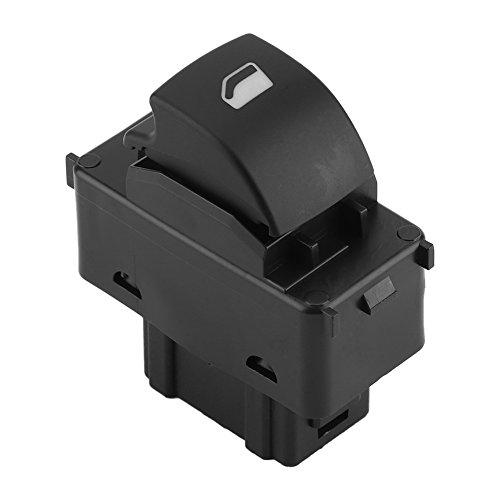 EBTOOLS Botón de Interruptor de Vidrio de la Ventana Principal para Automóvil de Un Solo Ajuste 207 6490.E2