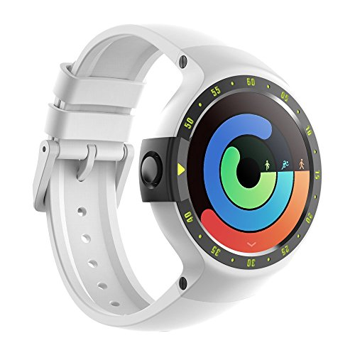TicWatch S Glacier Smartwatch Intelligente Orologio da polso con Display...