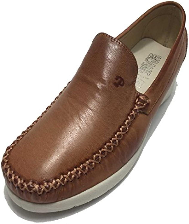 BeaNLo modyacalzado.es Zapato Mujer Tipo Mocasin de Piel EN Color Cuero