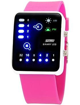 LEDSehen Sie sich kreative neutrale Tabellen/Wasserdichte Ehepaar Uhren/Mode Mädchen und jungen Watch-E