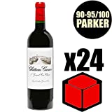 X24 Château Canon 2014 75 cl AOC Saint-Emilion Grand Cru 1er Grand Cru Classé B Rouge Rotwein