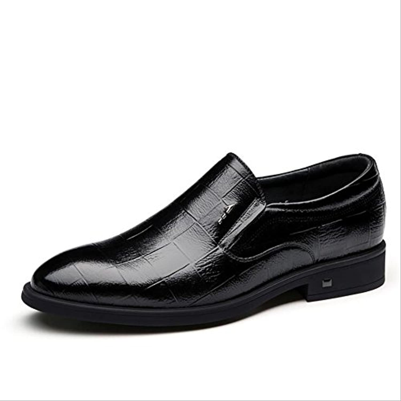GFP Lederschuhe Herrenmode Schuhe Arbeit Komfort Schuhe Frühling/Herbst Wanderschuhe Formelle Business Lederschuhe