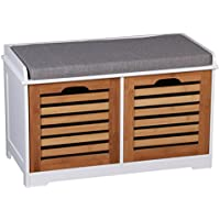 Storage Benches Home Amp Kitchen Amazon Co Uk